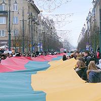 """Silpnoji šūkio """"Lietuva – lietuviams"""" pusė"""