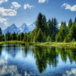 Ramybės ežeras – meditacija
