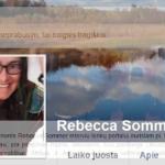 "Rebecca Sommer: ""Jeigu mes neprabusim, tai baigsis tragiškai"""