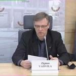 Lietuvos Nepriklausomybės Akto signataro Zigmo Vaišvilos spaudos konferencija