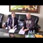 Kazimiero Juraičio spaudos konferencija po vizito į Rusijos ambasadą