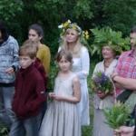 Vasaros saulėgrįžos šventė. Rasos ant Altoniškių piliakalnio 2016 m. 2/2 dalis.