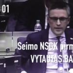 V. Bakas rekomenduoja K. Juraičiui kreiptis į politologus