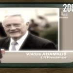 Prezidentas V. Adamkus apie A. Anušausko fantazijų pasaulį – CŽV kalėjimą