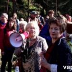 """Žygis miškams išsaugoti 1500 dalyvių ir """"žiniasklaidos"""" tyla"""