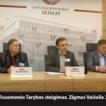 Lietuvos Visuomenės Tarybos steigimas