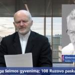 Kandidatas į LR Prezidentus Gintaras Radvila.