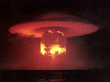 kad prieš 25 tūkstančius metų Žemėje vyko branduolinis karas