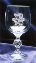 Šventinis stalas ir vyno taurė