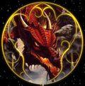 Žaidimas - drakonas ir skydas