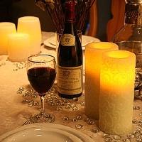 Šventinę nuotaiką sukuria žvakės