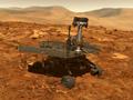 Spirit marsaeigis Raudonojoje Planetoje: rastas mįslingas akmuo