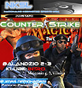 Counter-Strike ir Magic: The Gathering žaidimų varžybos