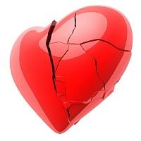 Dužusi širdis
