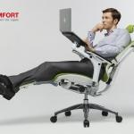 Kaip patogiai dirbti nešiojamuoju kompiuteriu?
