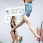 Kauno miesto meninės gimnastikos sportininkių triumfas