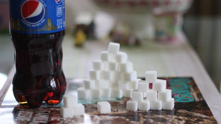 Сколько сахара в пепси коле