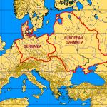 Europine Sarmatija ankstyvojoje kartografijoje
