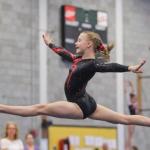 Gimnastės nenusileido vyresnėms varžovėms