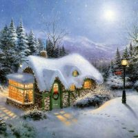 Thomas Kinkade III - Be Home For Christmas